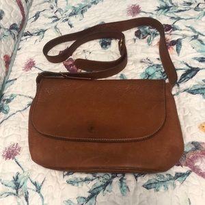 Coach Vintage Caramel/Tan Leather Crossbody Bag